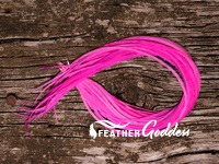 Hot Pink Hair Feathers