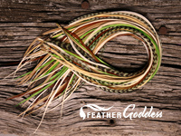 Mountain Spring Colored Hair Feathers, 14