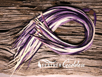 Purple-Passion Hair Feathers, 14