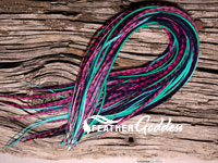 Wild Child Colored Hair Feathers, 14